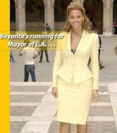 Photo: Beyonce to run for mayor of Los Angeles soon   MediaTakeOut.com has exclusive learned that Beyonce Knowles international superstar wife to Jay Z and mother to Blue Ivy is preparing to run for Mayor of Los Angeles. This is not a rumor we confirmed the report with people close to Beyonce.  We spoke exclusively to a very well connected insider who tells us that Bey has already hired political consultants and is taking preliminary steps to run as early as 2018.The insider explained to…