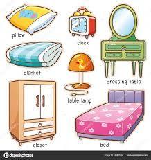 Los Muebles En Ingles Muebles En Ingles Ingles Para Ninos Casa