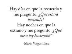 Desilusión -  Mario Vargas Llosa