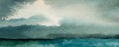 Rhod Evans Painting Watecolour