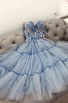 Lace Homecoming Dresses, A Line Prom Dresses, Tea Length Dresses, Cheap Prom Dresses, Evening Dresses, Bridesmaid Dress, Short Blue Dresses, Prom Dresses Long With Sleeves, Backless Prom Dresses