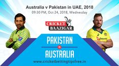 Today Cricket Baazigar Provide Match Prediction and cricket betting tips pak vs aus All fans of cricket can also get free updates on the page www. Cricket Tips, Cricket Match, Live News, Fans, Followers, Fan