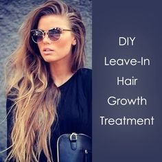 DIY Leave-in hair lengthener