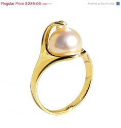 Pearl Ring Custom Ring Egyptian