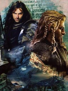 Kili & Fili - Wolf and Lion of Durin