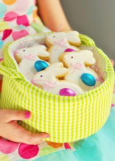 kekse selber backen ostern osterhasen