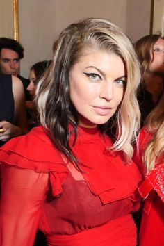 Fergie  #Fergie Vogue Italia and Place Vendome Party in Milan 24/02/2017 Celebstills F Fergie