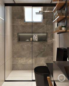 Bathroom inspiration and design Bathroom Design Small, Bathroom Layout, Bathroom Interior Design, Modern Bathroom, Master Bathroom, Washroom Design, Zen Master, Master Baths, Master Suite