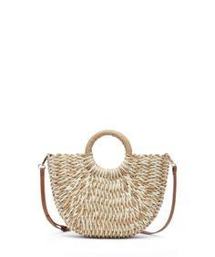 Straw Bag, Interesting Stuff, Bags, Fashion, Handbags, Moda, La Mode, Dime Bags, Fasion