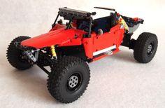 Lego Technic Off-Road Buggy , Lego Cars, Lego Truck, Cool Lego, Awesome Lego, Off Road Buggy, Trophy Truck, Lego Mecha, Lego Projects, Lego Creations