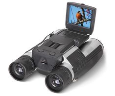 The Best Digital Camera Binoculars - Hammacher Schlemmer Best Digital Camera, Best Camera, Digital Slr, Digital Cameras, Spy Gadgets, Technology Gadgets, Digital Camera Binoculars, Pistola Nerf, Cameras Nikon