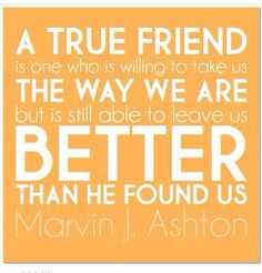 Love this! So lucky to be blessed with wonderful friends.