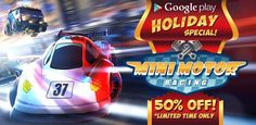 Mini Motor Racing - Hilarious & exciting racetracks. Great, extremely smooth animation.