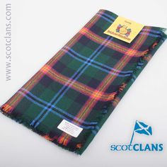 Young Tartan Headsquare. Free worldwide shipping available