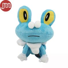 """Find More Movies & TV Information about New Pokemon Pocket Froakie Kawaii Frogs Game Plush Doll Kids Toys Gift 7"""" Anime Juguetes Baby Dolls Brinquedos,High Quality toy pipe,China doll sex Suppliers, Cheap toy from M&J Toys Global Trading Co.,Ltd on Aliexpress.com"""