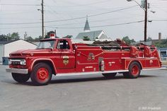 IFD 19 Truck. GMC/shops custom. These trucks carried regular truck  company equipment without an aerial device.