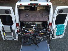 Small Simple Efficient Ram Promaster Diy Camper Van