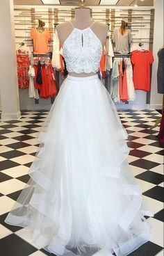 Two Pieces Prom Dresses, Beautiful Prom Dresses, 2018 Prom Dresses, Cheap Prom Dresses, Prom Dresses Long Prom Dresses 2019 Princess Prom Dresses, Prom Dresses Two Piece, Prom Dresses 2018, A Line Prom Dresses, Tulle Prom Dress, Cheap Prom Dresses, Dresses For Teens, Bridesmaid Dresses, Dress Lace