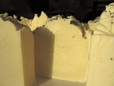 Lemon and poppyseed shea butter soap