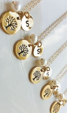 family tree necklaces!