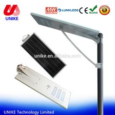 UNK-SL60S LifePo4 battery Solar lamps led 60w for street retrofit kits with 2 years warranty