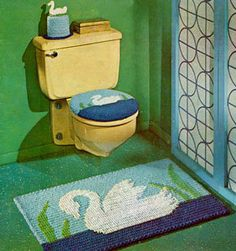 1000 Images About Crochet Bathroom On Pinterest