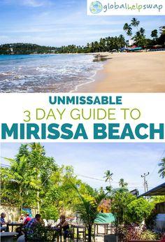 Beautiful Mirissa Beach Sri Lanka   Things to do   Beaches   Food   Sunset   Travel   Activities  