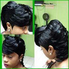 88 Best 27 Piece Quick Weave Images In 2019 Pixie Cuts Short Hair