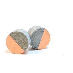 Concrete Circle Earrings (More Colors)