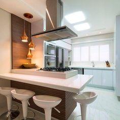 10 Inspiring Modern Kitchen Designs – My Life Spot Home Decor Bedroom, Interior Design Living Room, Room Decor, Kitchen Decor, Kitchen Design, Ceiling Design, Kitchen Cabinets, Kitchen Worktop, Sweet Home