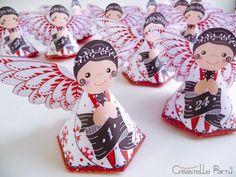 DIY calendrier de l'Avent anges - angel Advent calendar