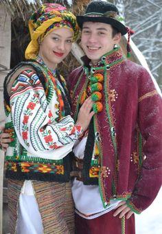 Trajes tipicos, Ucrania