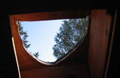 installing a wood stove Wood Stove Chimney, Wood Stove Installation, Small Wood Burning Stove, Sauna Design, Outdoor Living, Camper, Living Spaces, Garage, Cabin