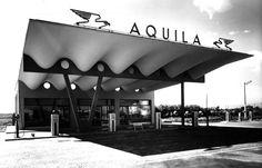 Stazione di servizio carburanti, Sesto San Giovanni - 1949 Aldo Favini