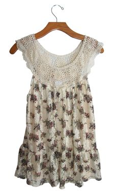 Altar'd State Floral Crochet Lace Tank Top #stellasaksa #altardstate #floral #crochet #lace #tank #tanktop