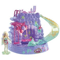 Polly Pocket Fountain Falls Playset - Mattel - Polly Pocket - Playsets at Entertainment Earth Item Archive Polly Pocket World, Barbie Doll Set, For Elise, Baby Doll Accessories, Childhood Movies, 90s Kids, Old Toys, Best Memories, Toys For Girls