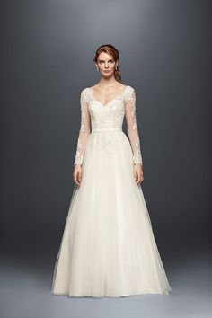 David's Bridal is a must-stop shop for all things wedding dresses, and where you can find a dress you'll love, no matter what. | Via A Practical Wedding