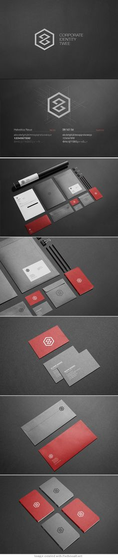Creative Brand Design corporate business card identity