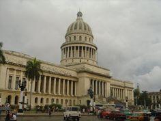 Capitolio de La Habana, Cuba.