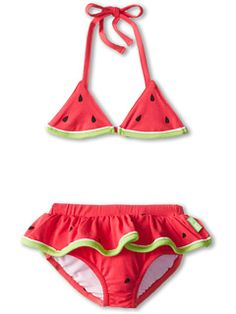 2034d57eecca5 Le top watermelon cutie skirted bikini infant toddler little kids at 6pm.com