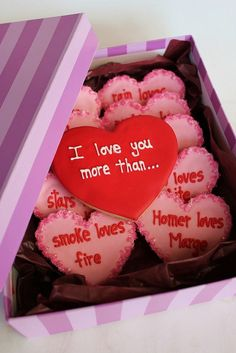 I love you more than.. so sweet - 36 Romantic Valentine DIY and Crafts Ideas