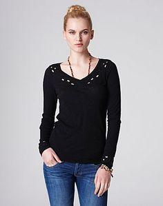 Jennifer Cutout T-Shirt - New Arrivals - Lucky Brand Jeans
