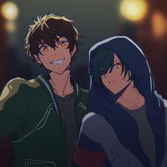 Ikuya and Natsuya