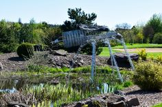 Moderne Kunst im Golfclub Erftal bei Miltenberg  ... #golfclub #erftal #miltenberg #twogolf