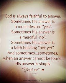 Heartprints of God: Sometimes . . .