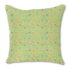 Uneekee Papageno Paradise Burlap Pillow Single Sided