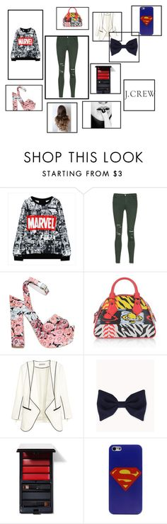 """""""//kiss me kiss me//"""" by reythefrog ❤ liked on Polyvore featuring J Brand, Giamba, Vivienne Westwood, Forever 21, Serge Lutens, J.Crew, women's clothing, women, female and woman"""