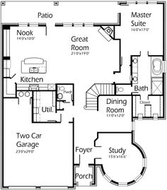 images about House Plans   AutoCAD on Pinterest   Front    House Plans by Korel Home Designs