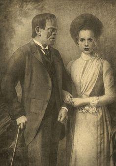 Mr. and Mrs. Frakenstein- Terry Fan