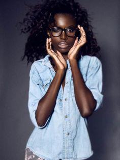 how to get beautiful black skin